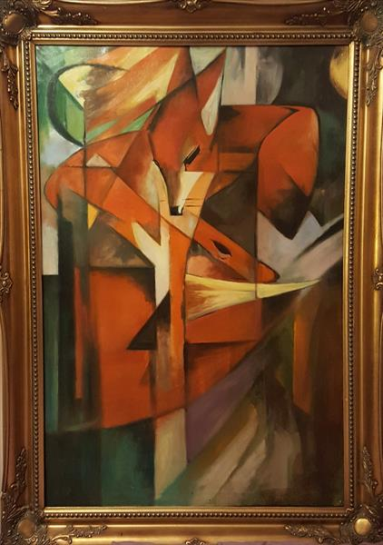 The Fox after Franz Marc by Mark Ritchie