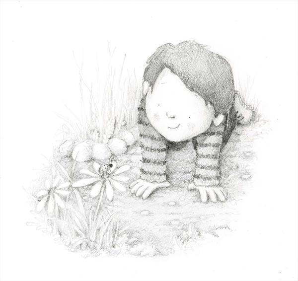 Boy and Bug by Claire Keay