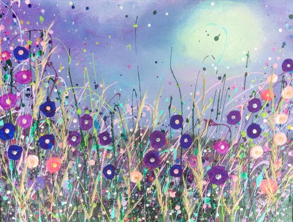 Moonlit Meadows  by Claire Henle