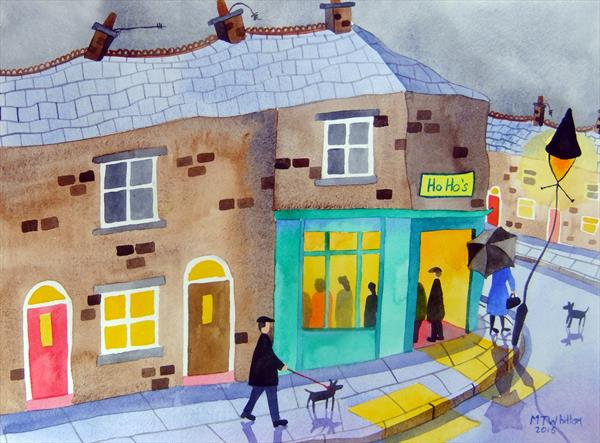 The best chippy in town by Martin Whittam