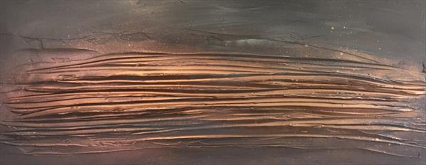 Glow - Greys/Copper by Kerry Bowler