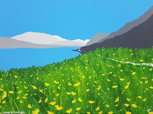 Summer at Ennerdale, The Lake District by Sam Martin