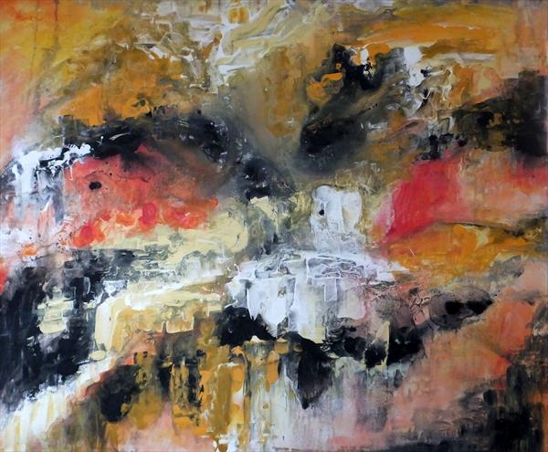 Abstract Expressionism (Very Large) by Hester Coetzee