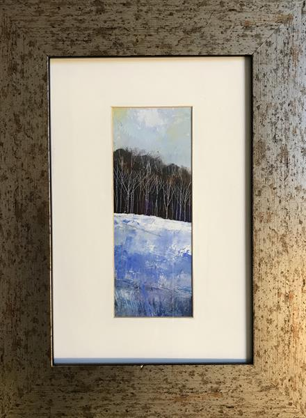 Winter Solstice ( framed original oil painting ) by Sarah Gill
