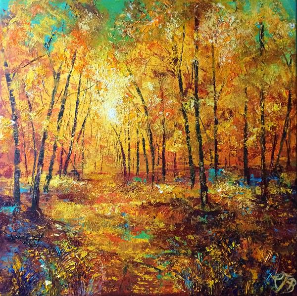 Autumn Forest by Colette Baumback