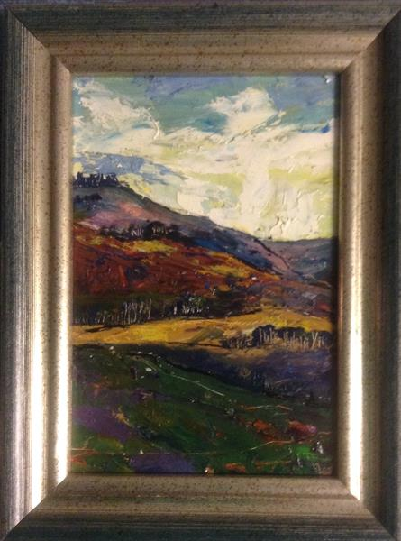 Moorland Spirits  ( framed original )