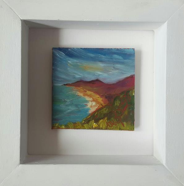Summer over Killiney bay by niki purcell