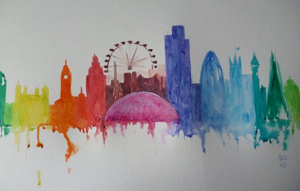 The Colours Of London by Super Cosmic