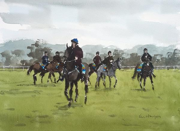 Training Session by Ken  Hayes