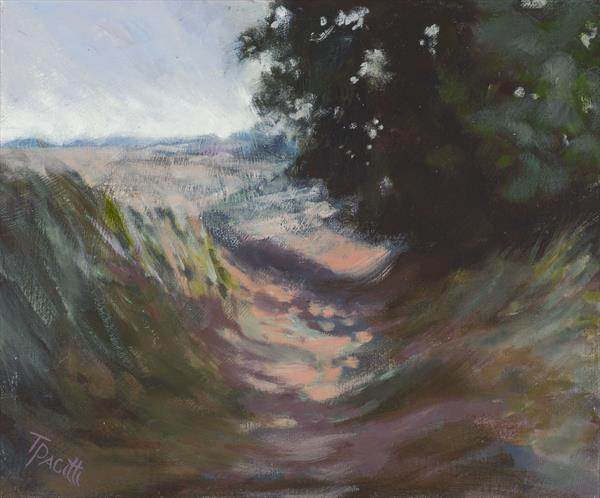 Country Lane, Devon (Limited edition giclee) by Tracey Pacitti