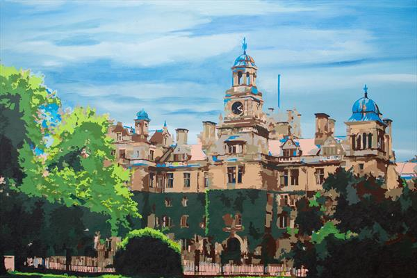 Thoresby Hall by Kris  Mercer