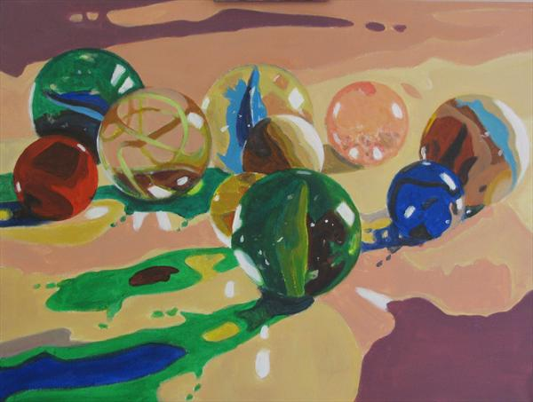 Melted Marbles by Nikki Rosetti