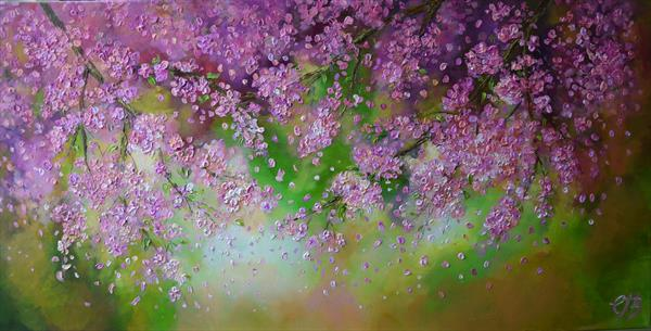Blossom Shower by Colette Baumback