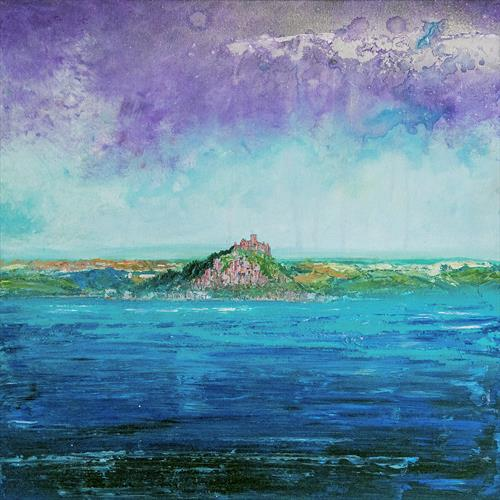 St Michael's Mount from Penzance by Diane Griffiths