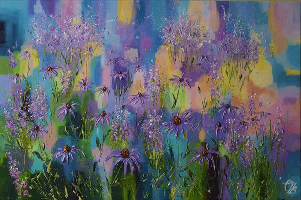 Return to the Purple Meadow by Colette Baumback