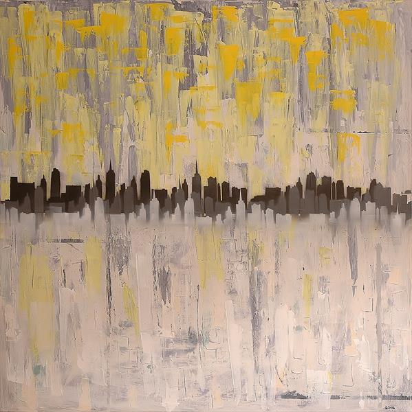 City of Hope (Large Abstract)