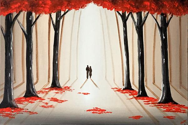 A Romantic Walk Through The Woods 3 by Aisha Haider