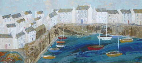 Cornish Harbour by Elaine Allender