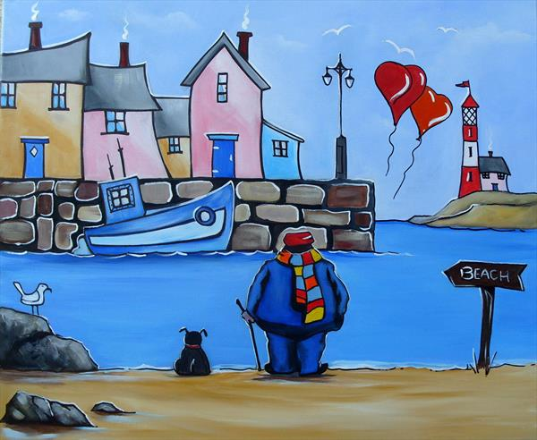 roy at harbour town by Terry Wylde