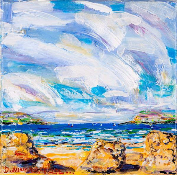 SUMMER SKY, CORNWALL by Diana Aungier - Rose