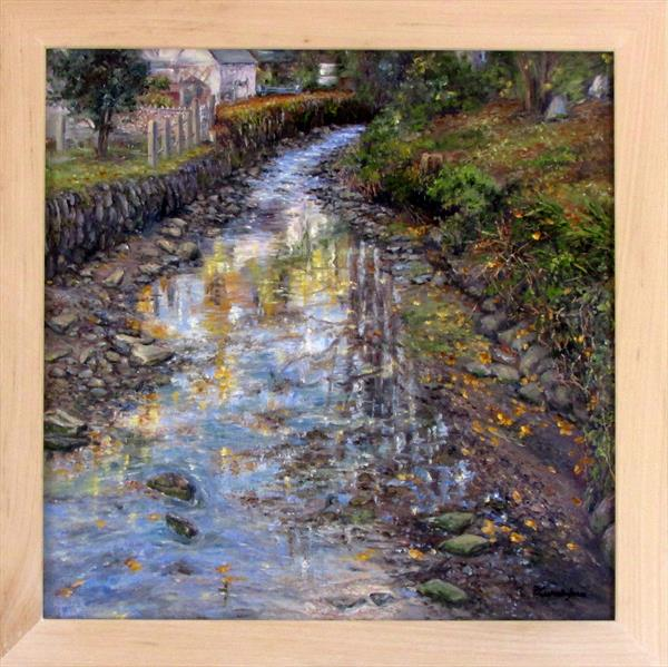 Helford Reflections by Patricia Cunningham