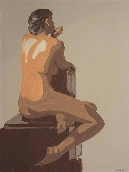 Neutral Nude 1 by Jackie Whall