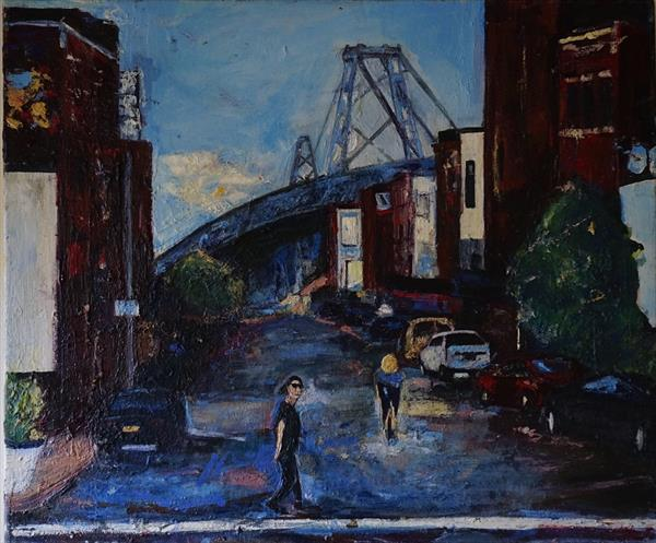 Brooklyn Bridge by Peter Raynor