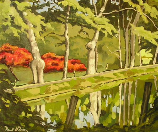 Red Bushes by Paul O' Dell