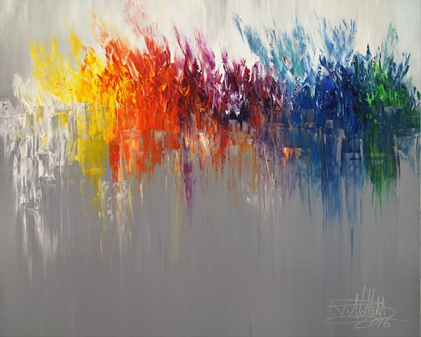 Like A Rainbow M 1 by Peter Nottrott