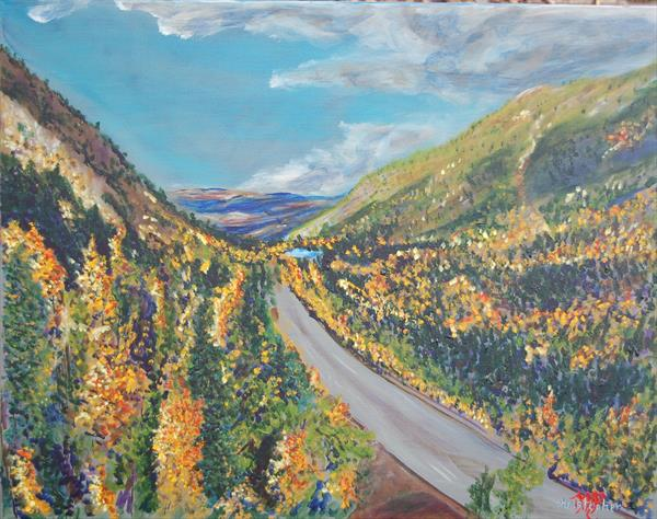 Switchback Overlook by Mark Smith