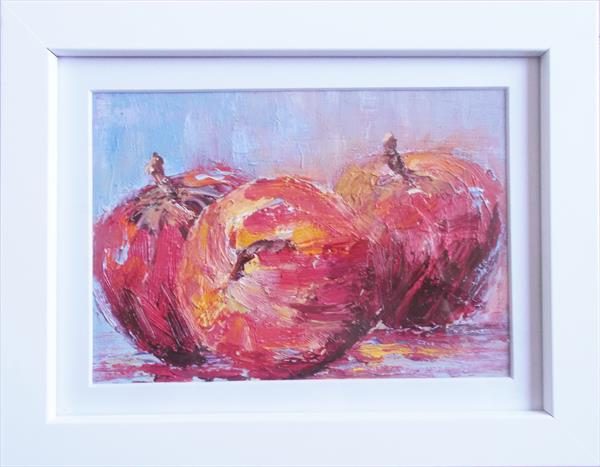 Red Apples by Therese O'Keeffe