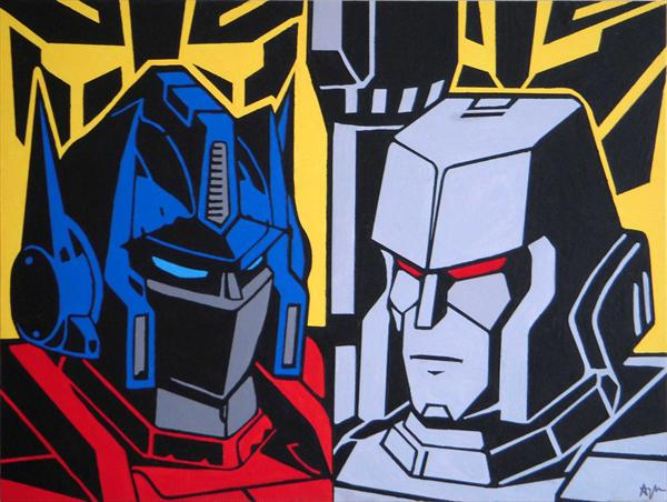 Transformers by Adam Mackay