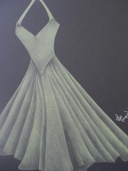 Champagne Gown. by Jacqueline Daccus