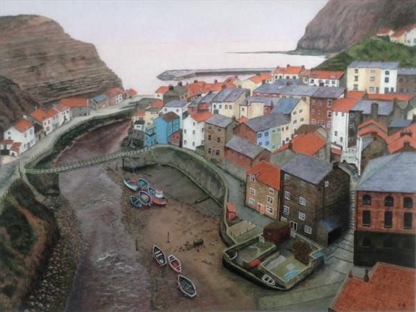 Staithes by Jim Griffith