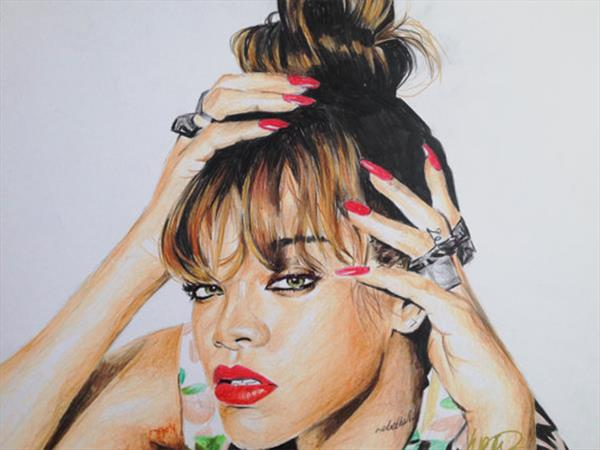 Rihanna by Holly Eccleston