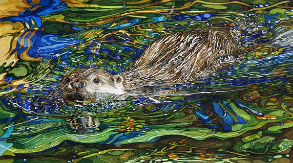 Coming Through Otter On a Mission by Rhian Symes