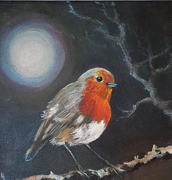 Red Red Robin  by Shirley Wright