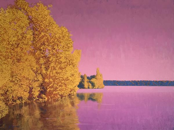 Magenta Lake  by Christopher Gill