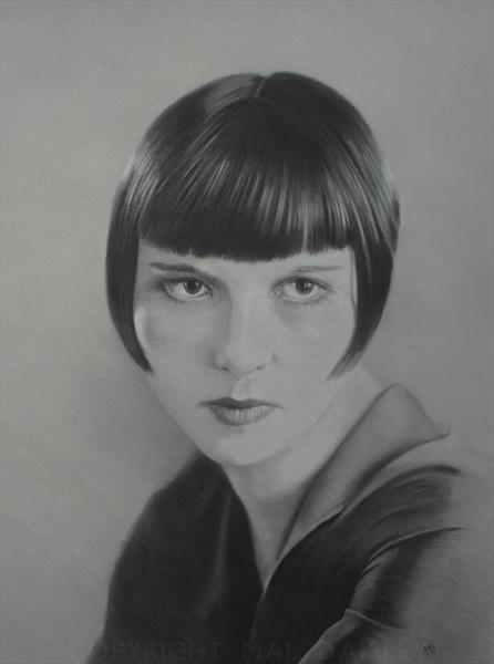 LOUISE BROOKS by Mal Daisley
