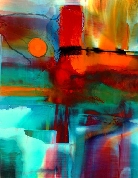 'Colour Sunset' by Nora Doherty