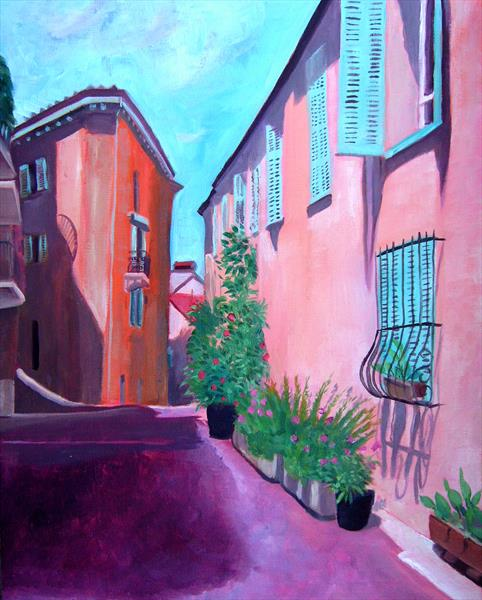 Cannes old Town by Mary Stubberfield
