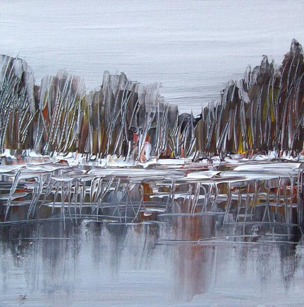 Abstract Landscape by Patricia Richards