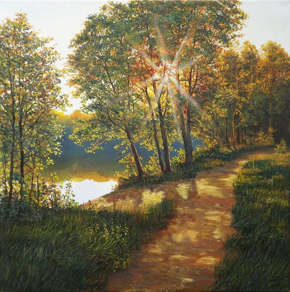 Path to the River by Oleg Riabchuk