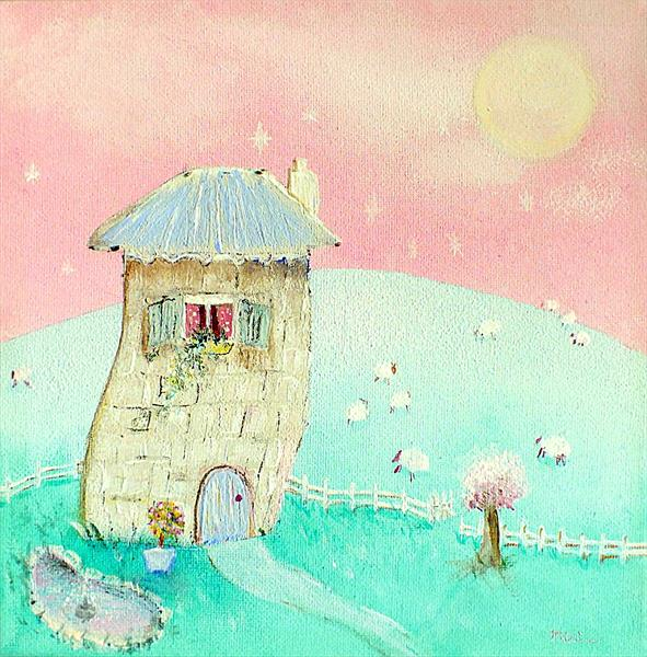 The Mushroom House by Tracey Unwin