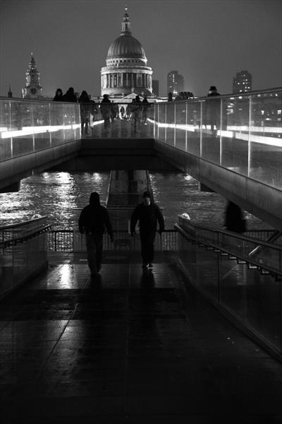 Millenium Bridge by Jon Spencer