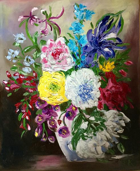 Bouquet of flowers  by Olga  Koval