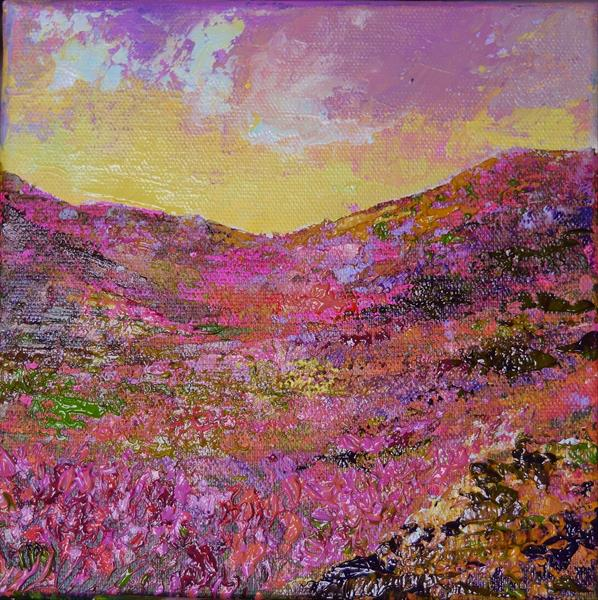 Pink Heather by Colette Baumback