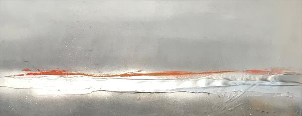 Sincerity - Greys/Orange  by Kerry Bowler