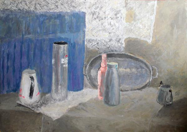 Still Life in Grays by M K Anisko