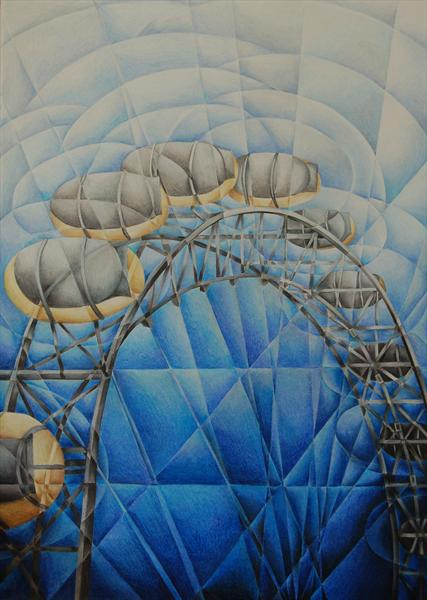 Millennium Wheel by Tiffany Budd